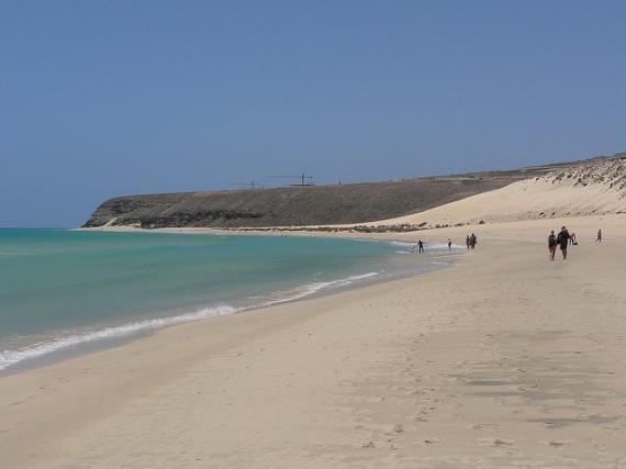 Costa Calma – rajskie piaski Fuerteventura